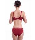 Plus Size Bra Set 3D Air Mesh Breath Underwear Full Cup Minimizer Women Lingerie Lace Intimates Ladies Bra and Panty Set Quality 1