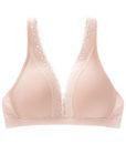 bra Women's Sexy Lace Wire Free Bra T Shirt bh Super Soft Bras For Women A B C D Cup 4