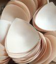 10 pairs/lot Removable Bra Pads Foam Push Up Bra Cups Swimsuit Padding Inserts Bikini Breast Lifter Black Nude Free Shipping 5