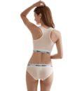 Women's underwear boxers Bra Set cotton comfortable Vest intimates Seamless Sexy Women Thongs Stretch Briefs Bras Sets 1