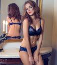 Lingerie plus size Ultra-thin Bra Brief Sets Push up Bra and Panties Female Underwear bra Set Transparent Women's Sexy bra 3