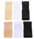 Closecret Women's Bra Back Strap Extenders with 1 to 3 Hook Optional 5