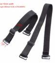 Closecret Bra Accessories Women's Convertible Shoulder Bra Straps 12mm 15mm Width(Pack of 3 Pairs:Beige/Black/White) 2