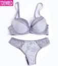 17 intimates Sexy B C Cup Bra Brief Sets Luxury Lace Push Up Bra Set Women Underwear Set Girl brassiere fashion lingerie set 1